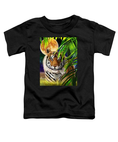 Second In The Big Cat Series - Tiger Toddler T-Shirt