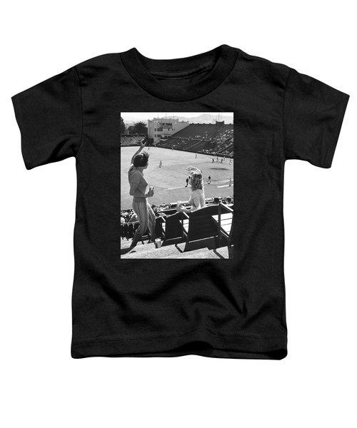 Sf Giants Fans Cheer Toddler T-Shirt