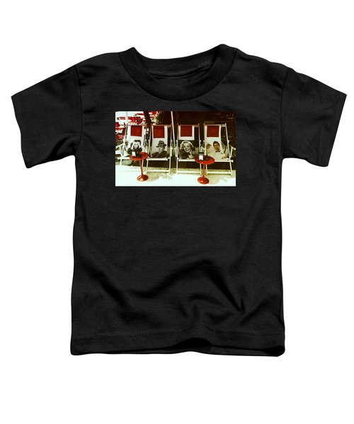 Sitting With Movie Stars Toddler T-Shirt
