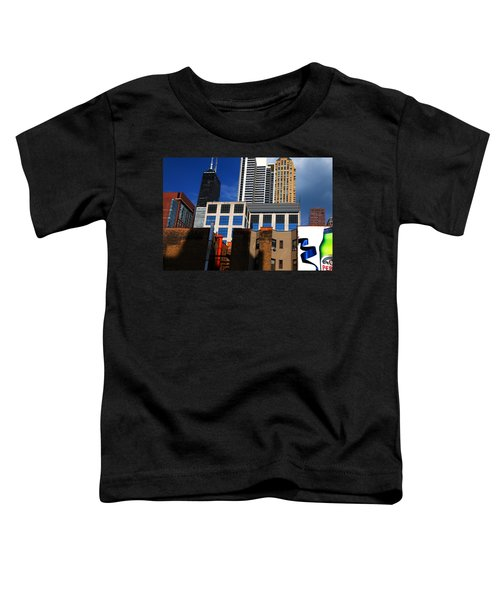 Skyline Building Blocks Toddler T-Shirt