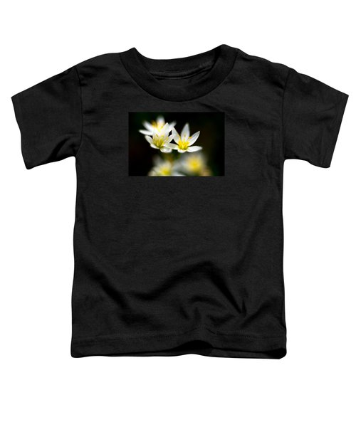 Small White Flowers Toddler T-Shirt