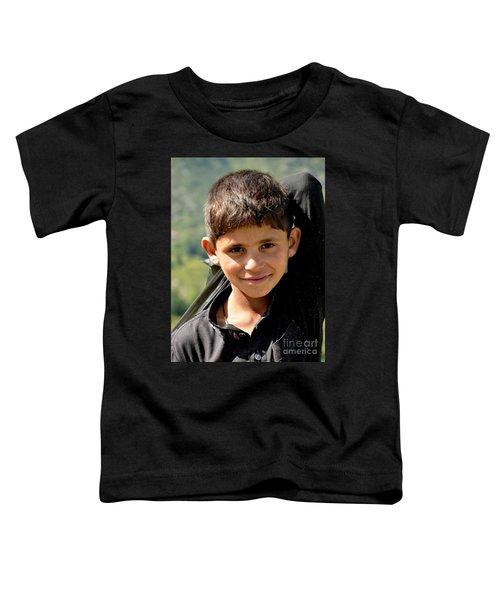 Smiling Boy In The Swat Valley - Pakistan Toddler T-Shirt