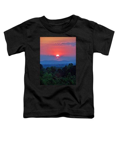 Smokey Mtn Sunset Toddler T-Shirt