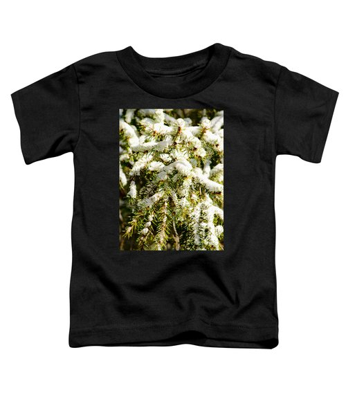 Snowy Pines Toddler T-Shirt