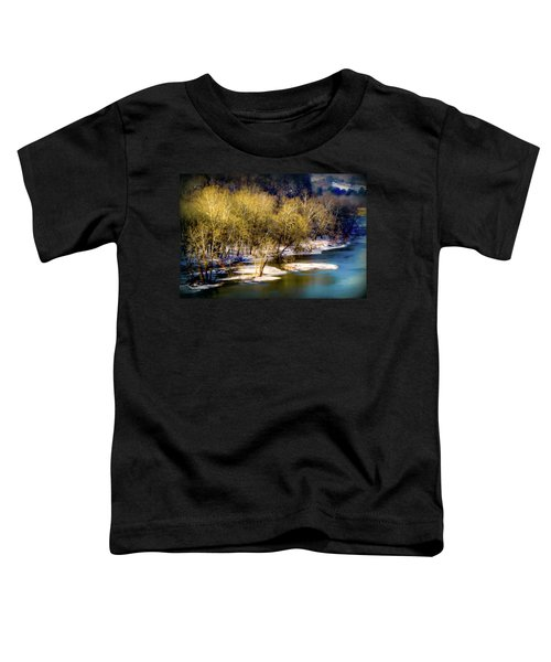 Snowy River Toddler T-Shirt by Karen Wiles