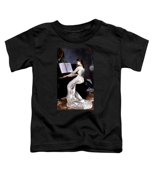 Song Without Words, Piano Player, 1880 Toddler T-Shirt