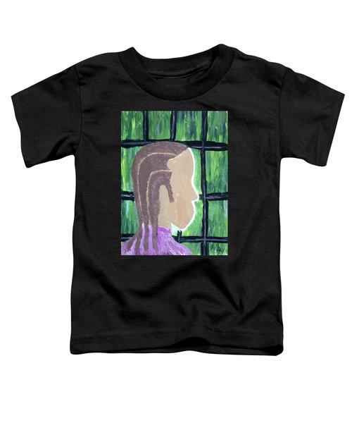 Abstract Man Art Painting  Toddler T-Shirt