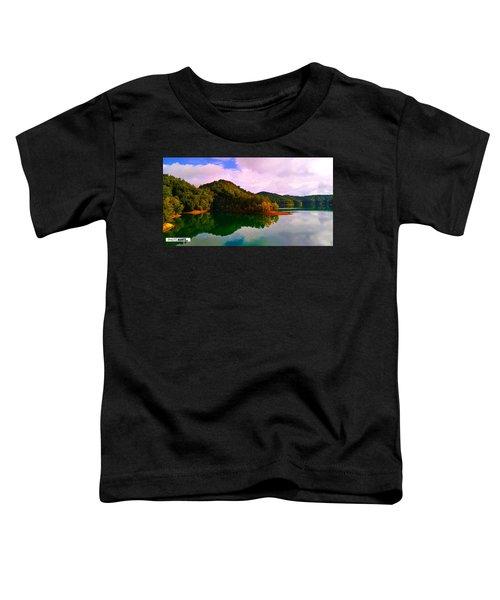 North Holston Lake Mountains Toddler T-Shirt