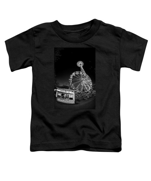 Space Needle Fights The End Of The World Toddler T-Shirt