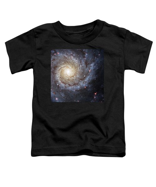 Spiral Galaxy M74 Toddler T-Shirt