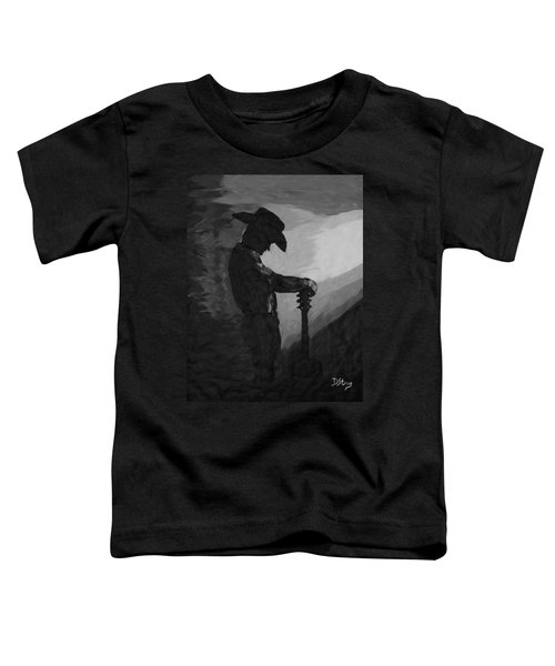 Spirit Of A Cowboy Toddler T-Shirt