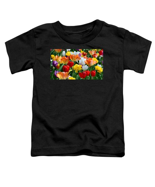Splash Of Spring Toddler T-Shirt