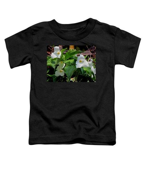 Springtime Trillium Toddler T-Shirt