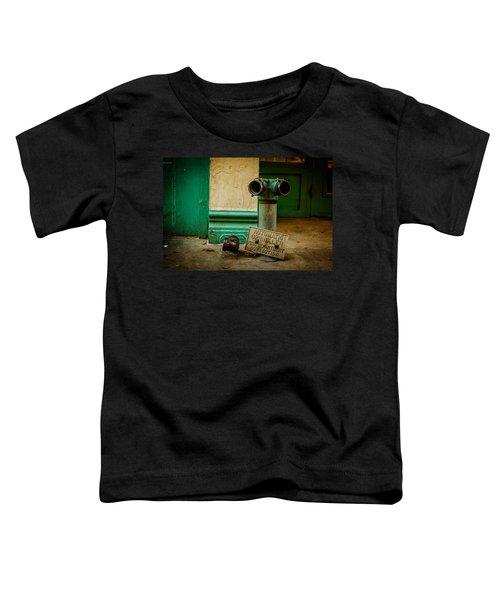 Sprinkler Green Toddler T-Shirt