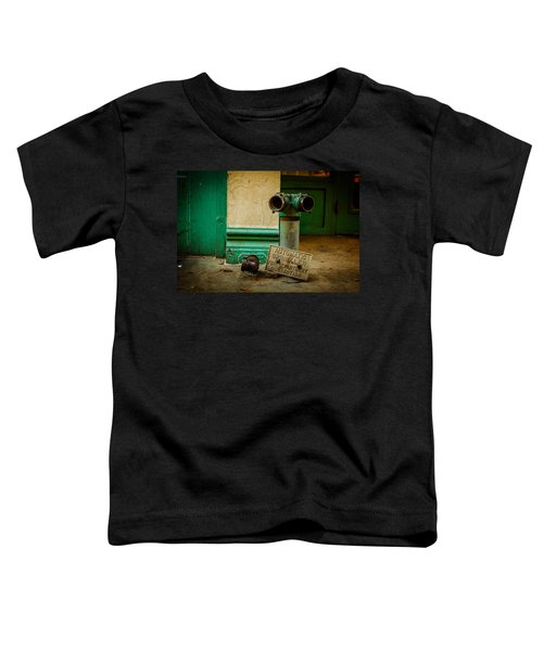 Sprinkler Green Toddler T-Shirt