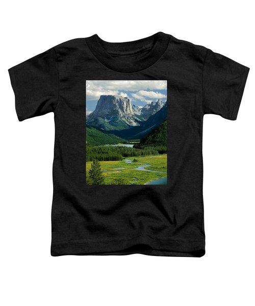 Squaretop Mountain 3 Toddler T-Shirt