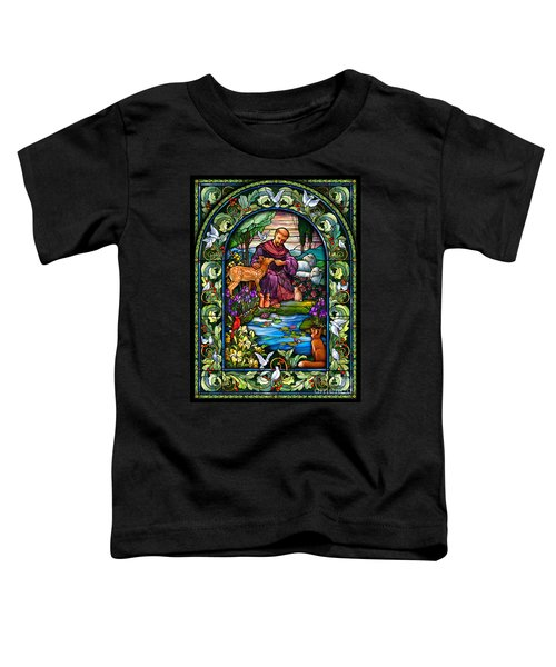 St. Francis Of Assisi Toddler T-Shirt