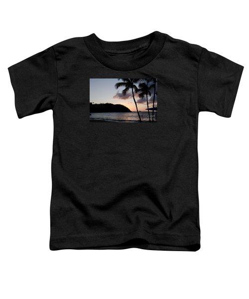 St. Lucian Sunset Toddler T-Shirt