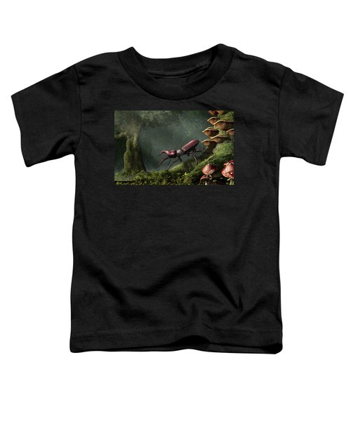 Stag Beetle Toddler T-Shirt
