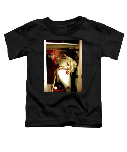 Stan The Man's Locker Stan Musial Toddler T-Shirt