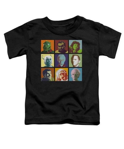 Star Trek - Alien Squares Toddler T-Shirt by Brand A