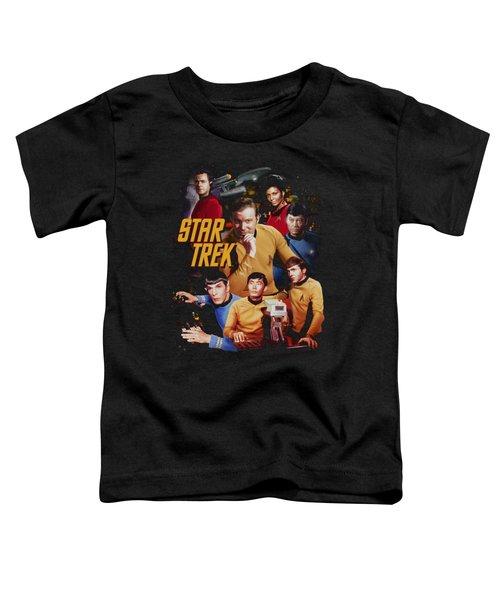 Star Trek - At The Controls Toddler T-Shirt