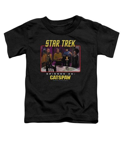 Star Trek Original - Cat's Paw Toddler T-Shirt