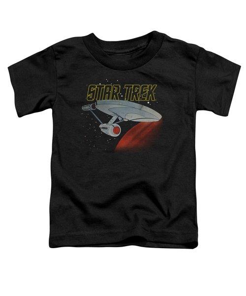 Star Trek - Retro Enterprise Toddler T-Shirt