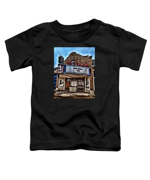 Stax Records Toddler T-Shirt by Stephen Stookey