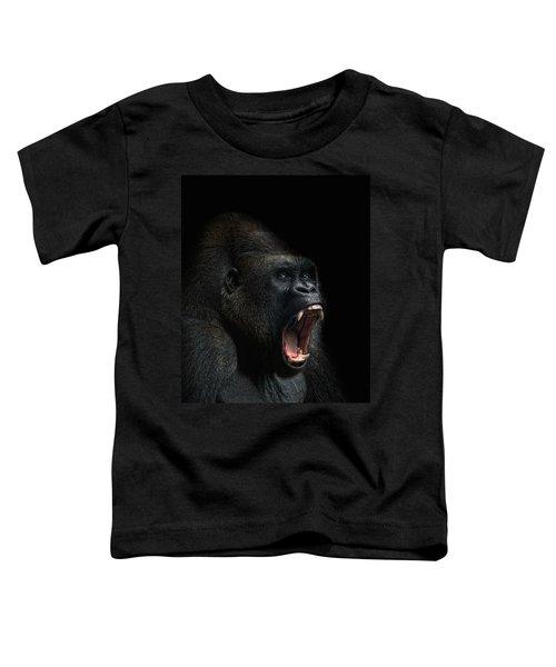 Stay Away Toddler T-Shirt by Joachim G Pinkawa