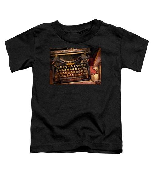 Steampunk - Just An Ordinary Typewriter  Toddler T-Shirt