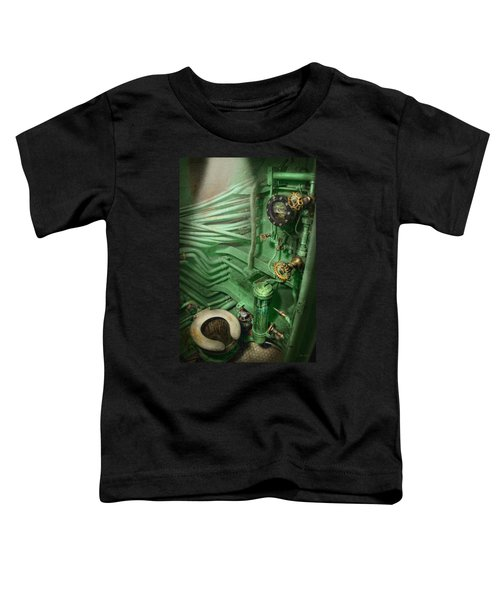 Steampunk - Naval - Plumbing - The Head Toddler T-Shirt