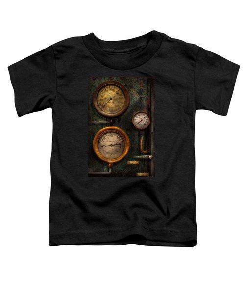 Steampunk - Plumbing - Gauging Success Toddler T-Shirt