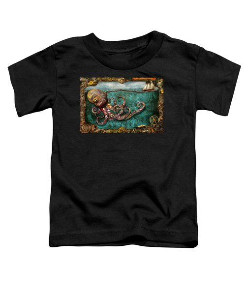 Steampunk - The Tale Of The Kraken Toddler T-Shirt