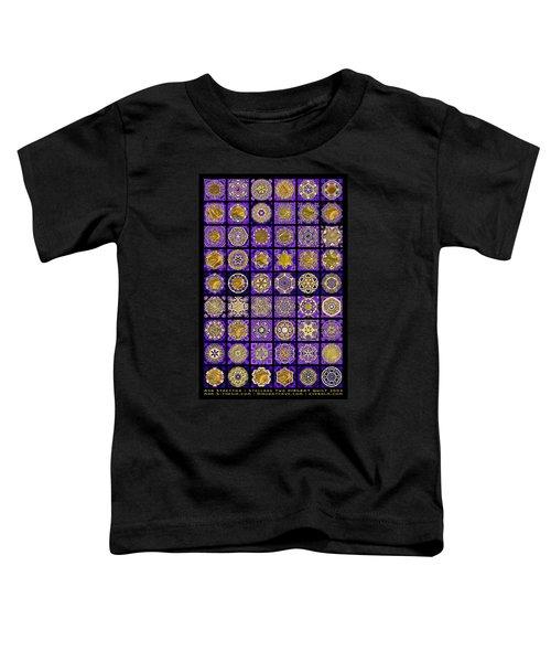 Stellars Two Dingbat Quilt Toddler T-Shirt