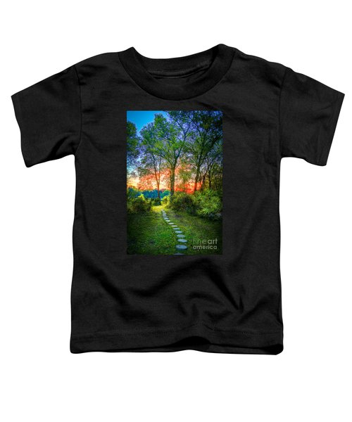 Stepping Stones To The Light Toddler T-Shirt