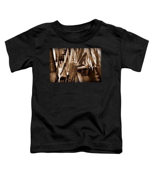 Toddler T-Shirt featuring the photograph Still Here by Andrea Platt