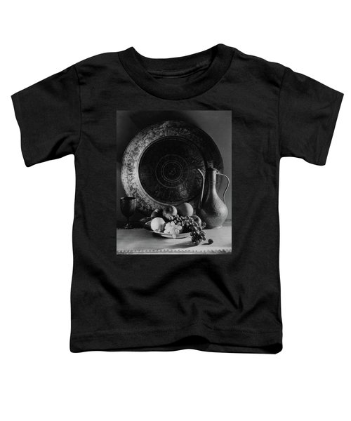 Still Life Of Armenian Plate And Other Toddler T-Shirt