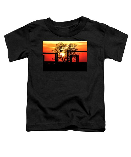 Stockyard Sunset Toddler T-Shirt