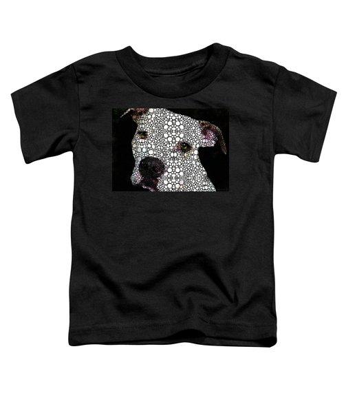 Stone Rock'd Dog By Sharon Cummings Toddler T-Shirt