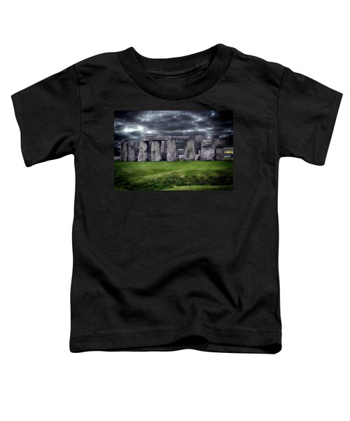 Storm Clouds Over Stonehenge Toddler T-Shirt