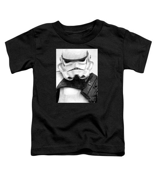 Stormtrooper Portrait Toddler T-Shirt