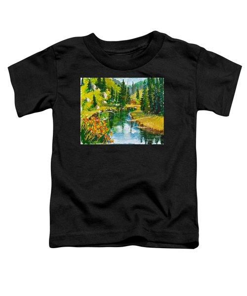 Strawberry Reservoir Toddler T-Shirt