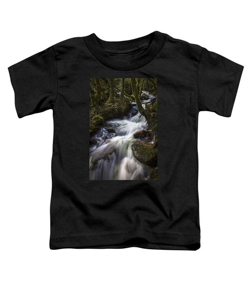 Stream On Eume River Galicia Spain Toddler T-Shirt