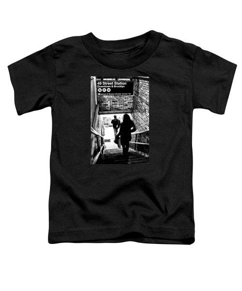 Subway Shadows Toddler T-Shirt