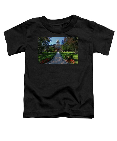 Summer On Notre Dame Campus Toddler T-Shirt