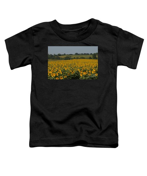Sun Flower Sea Toddler T-Shirt