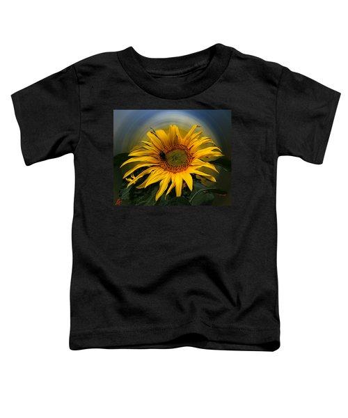Toddler T-Shirt featuring the photograph Sun Flower Summer 2014 by Colette V Hera  Guggenheim