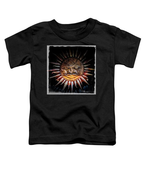 Sun Mask Toddler T-Shirt