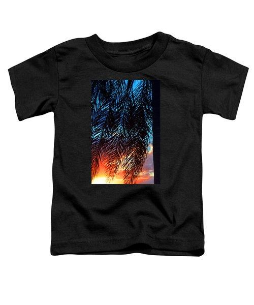 Sun Palm Toddler T-Shirt